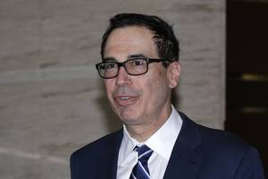 us treasury chief says trade deal possible with uk in a year