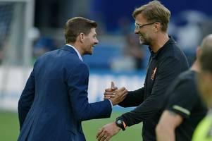 Steven Gerrard on the Jurgen Klopp Rangers warning that makes perfect sense now