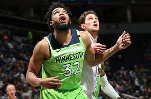 Red-hot Thunder hand slumping Timberwolves 113-104 loss