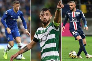 transfer news live: man utd 'angry' over bruno fernandes plus arsenal and liverpool latest