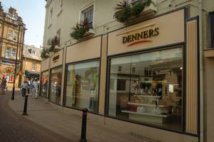 how denners became one of yeovil's best loved stores