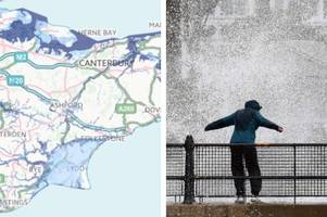 flooding in kent: the towns most at risk according to government data
