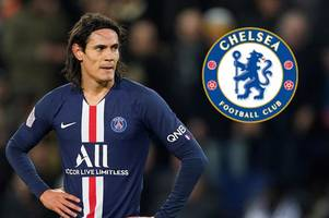 psg boss thomas tuchel explains edinson cavani decision amid chelsea and man utd transfer links