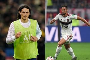 Transfer news live: Chelsea to seal striker deal, Cavani rejects Man United, Pablo Mari transfer