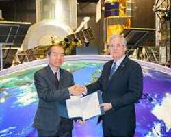 agreement on data utilization of earth observation satellite with fao