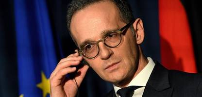 heiko maas: for a long time now, words have not been enough