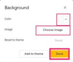 how to change the background on your google slides presentation