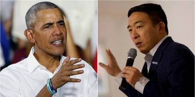 'a real missed opportunity': andrew yang swings at obama's decision to bail out wall street over average americans during the financial crash