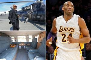 inside kobe bryant's 29-year-old private helicopter nicknamed the 'mamba chopper'