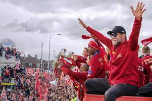 liverpool secretly planning premier league title parade with 30-year wait almost over