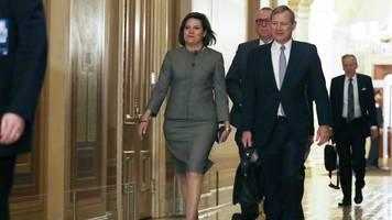trump's impeachment defense team presents case amid witness debate