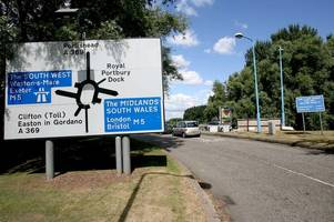 when congestion-busting scheme on portishead roundabout near m5 will start