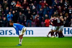 jermain defoe fires rangers character warning as he laments aspect that proved costly in hearts defeat