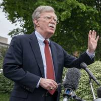 trump's false tweet on bolton