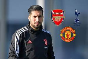 emre can latest: arsenal, man united and tottenham offered transfer, juventus hint, £25m fee