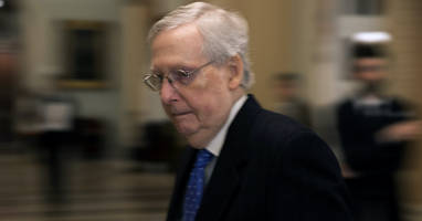 mcconnell reportedly acknowledges in private gop meeting he lacks votes to block impeachment witnesses