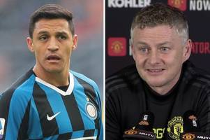 man utd manager ole gunnar solskjaer's alexis sanchez quote sparks brilliant reaction