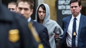 ftc, new york sue martin shkreli for alleged illegal drug monopoly