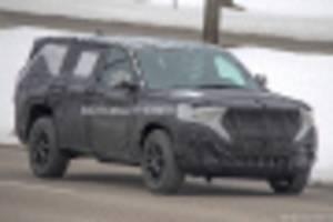 2021 jeep grand cherokee-based 3-row suv spy shots
