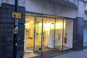 us clothing giant has closed its derby city centre store