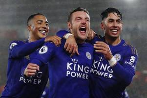 aston villa v leicester city: who are the big injury misses for the foxes?