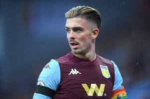 jack grealish round-up: all you need to know about the aston villa star manchester united have set their sights on