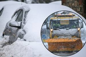Yellow weather warning stays in place for South Lanarkshire this morning after snow