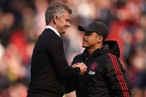 man utd boss ole gunnar solskjaer criticised over alexis sanchez return comments