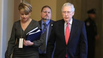 reports: mcconnell may not have enough votes to block new witnesses