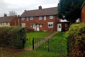 suspected arson attack on family home in chesterfield