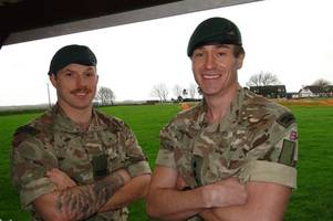 royal marines' coastal run will raise funds for big character from braunton