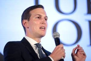jared kushner isn't even trying to sell his middle east 'peace plan' to palestinians