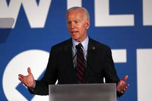 joe biden is the only candidate with a real shot at getting things done