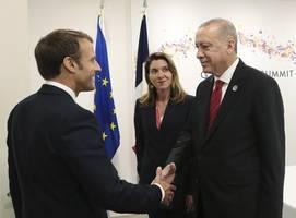 Macron says Erdogan failing to 'keep his word' on Libya