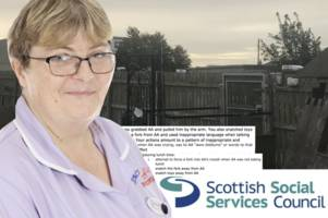 scots nursery worker rammed fork into child's mouth and mocked him when he cried