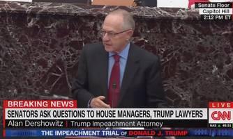 alan dershowitz gets mauled after tweeting defense of his pro-trump argument
