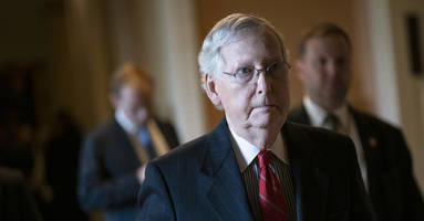 report: mitch mcconnell plans swift end to trump's senate trial if friday witness vote fails