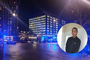 east croydon station stabbing: boy, 16, charged with murder