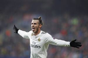 i'm not contemplating bale leaving madrid
