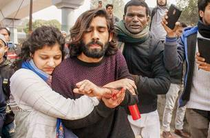 'ye lo azaadi,' yelled the shooter after firing at protesters in jamia
