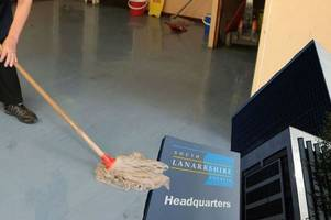 full-time janitors set to go at seven schools in lanarkshire