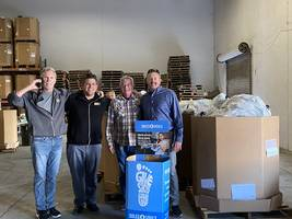 allied commercial real estate delivers 1,886 pairs of donated shoes to soles4souls to help fight poverty