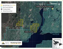 sky gold secures strategic land package on strike with new found gold's newfoundland queensway project