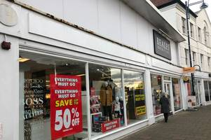 'irreplaceable' beales leaves gaping hole in town high street
