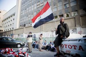 egypt sentences officer-turned-militant and 36 others to death