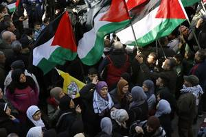 palestinians refuse to give up their natural rights