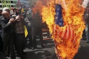 staving off 'doomsday': as america barks and europe drifts, iran's nuclear programme and belligerence grow