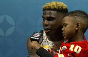 tyreek hill says he knew patrick mahomes was 'going to be special' | full press conference