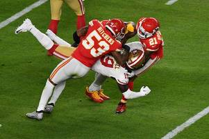 kansas city chiefs star anthony hitchens mocked for 'pooing himself' during super bowl