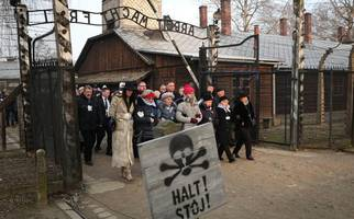 why auschwitz commemoration was a reminder of danger posed by intolerance in the world today